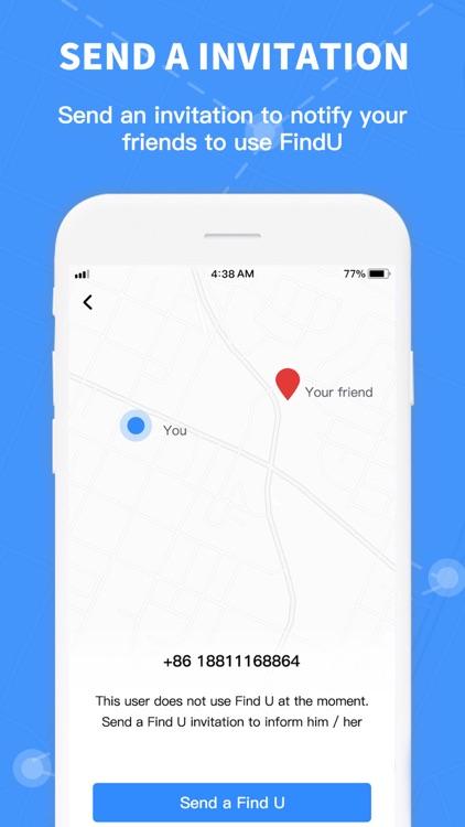 FindU - #1 location share app screenshot-3