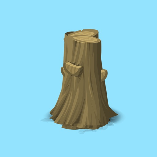 Tree Stump Stickers