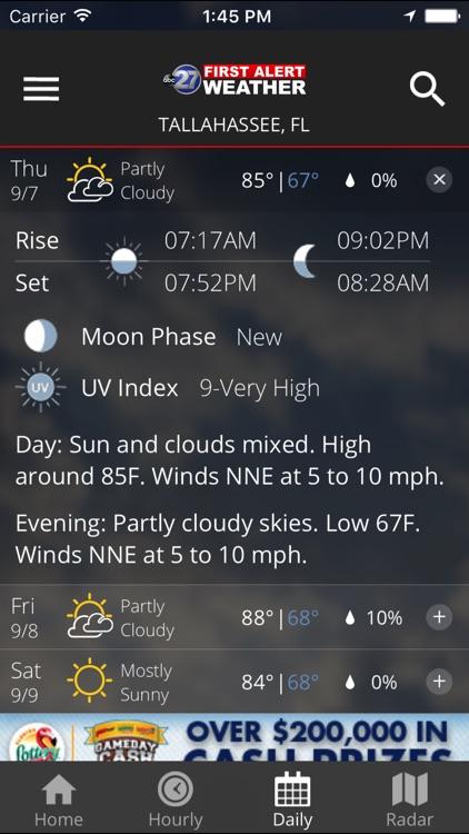 WTXL First Alert Weather screenshot-3