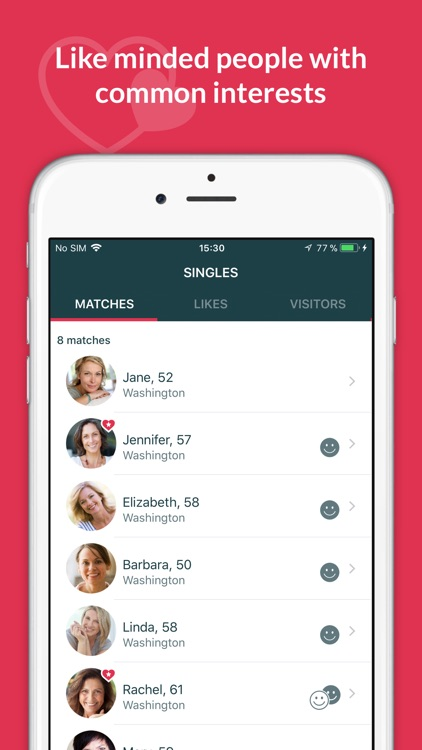 SilverSingles: 50+ Dating App screenshot-2