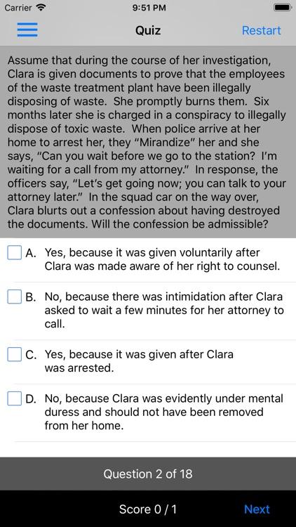 Criminal Procedure: Supreme