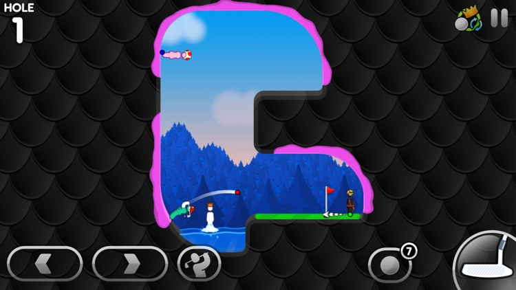 Super Stickman Golf 3 screenshot-3