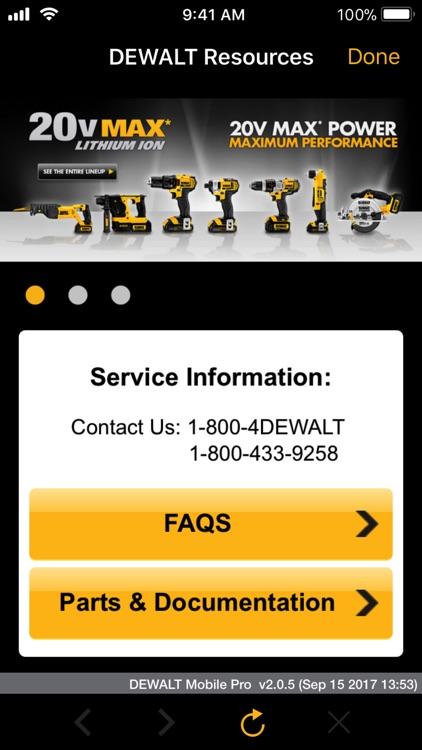 DEWALT Mobile Pro screenshot-4