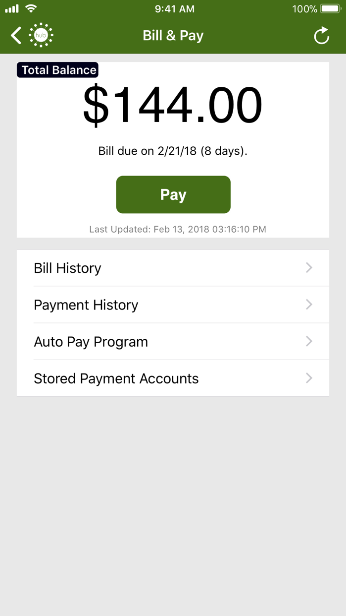 SmartHub Screenshot