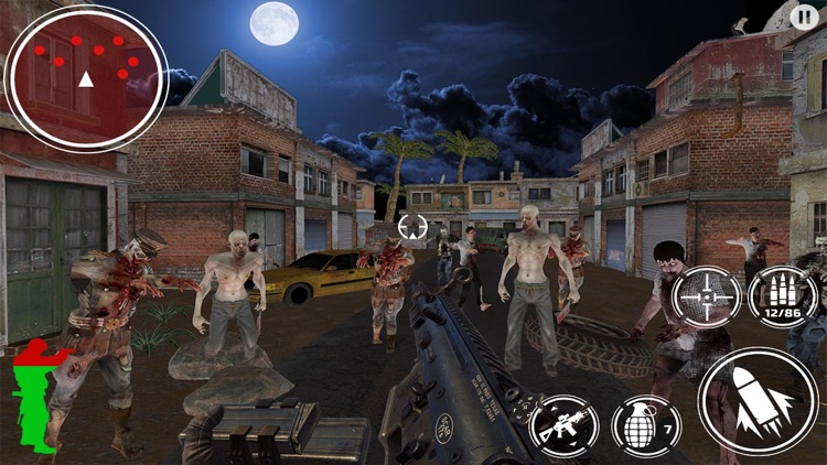 Zombie Shooter Dead Target screenshot-3