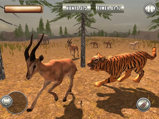 Tiger Simulator 2k18 Скриншоты9