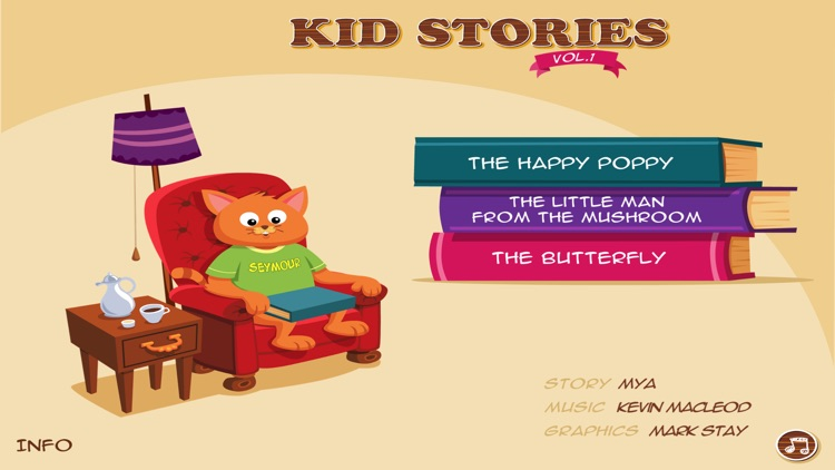 Kid Stories 1 - Read & Play screenshot-0