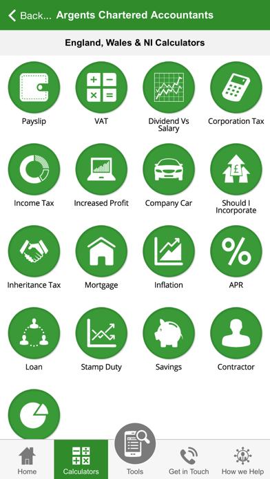 Argents Chartered Accountants screenshot three