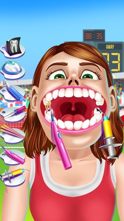 Sports Dentist Salon Spa Games
