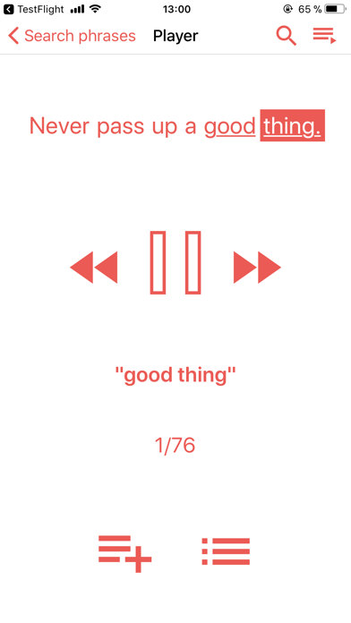 Скриншот №3 к Playphraseme