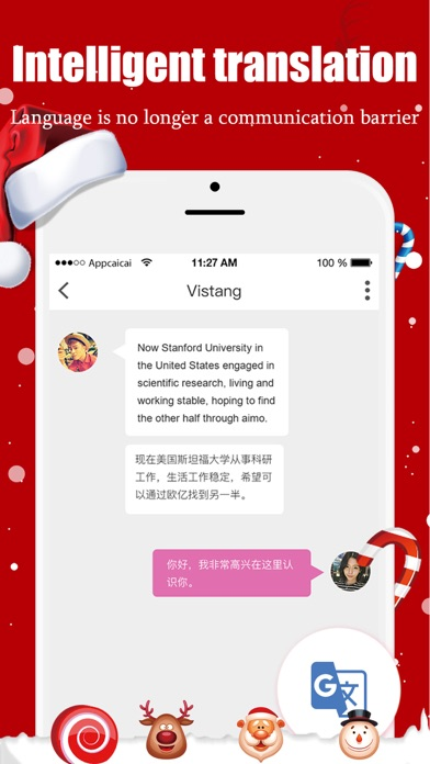 Intelligent dating app