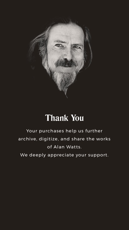 Alan Watts Seminar Series screenshot-3