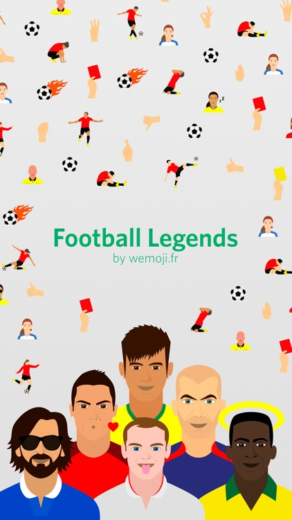 Football Legends Emoji screenshot-4