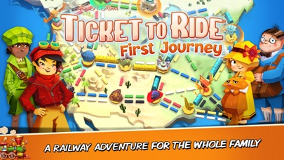 Ticket to Ride: First... screenshot1