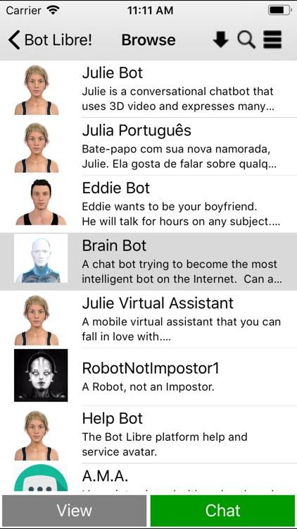 Bot Libre screenshot-3