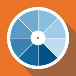 RAL colour chart. 3D fan deck