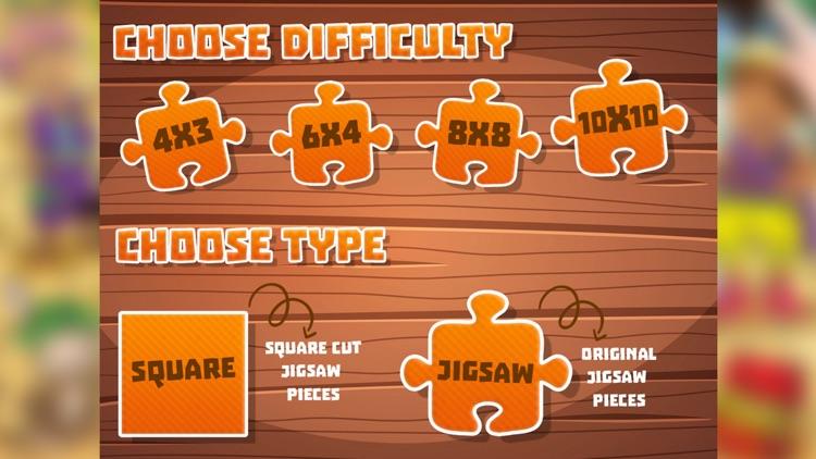 Super Cartoon Jigsaw Puzzles screenshot-4