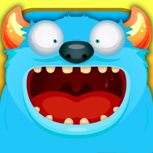 小怪物吃饼干 app