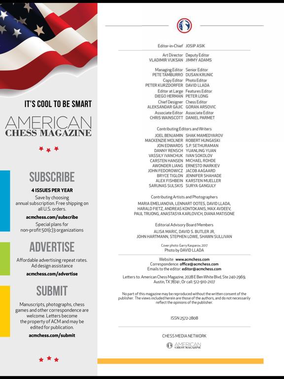 American Chess Magazine screenshot 7