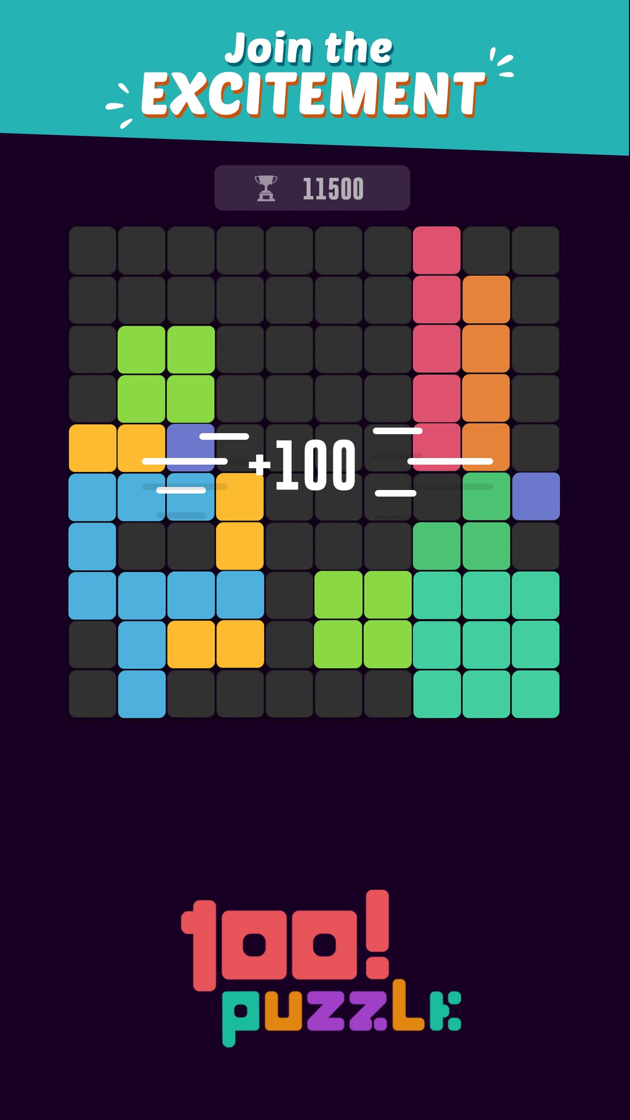 100! Block Puzzle Screenshot