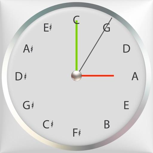 Circle of 5ths Clock