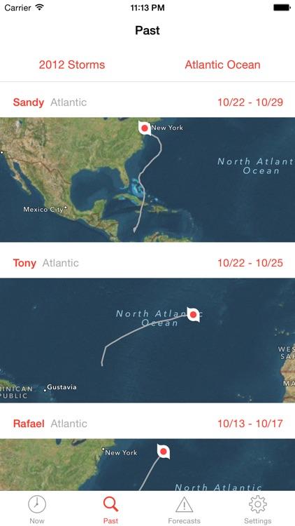 My Hurricane Tracker & Alerts screenshot-3