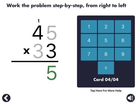 Screenshot #1 for MathEdge Multiplication