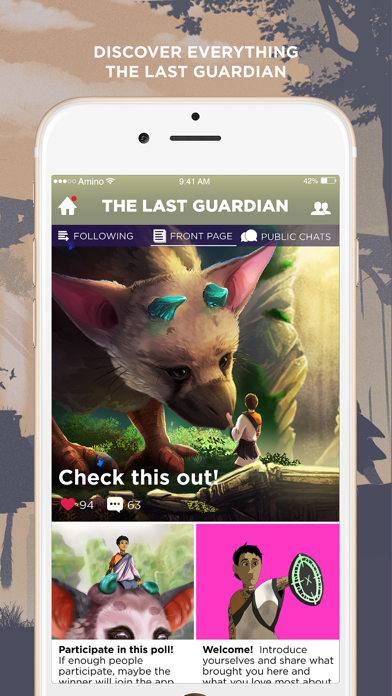 Amino for The Last Guardian-0