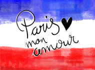 I love Paris Stickerpack - Paris mon amour