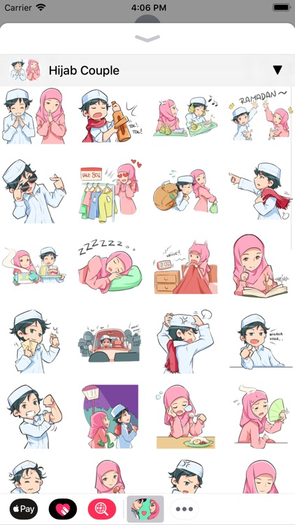 Muslim Stickers App screenshot-3