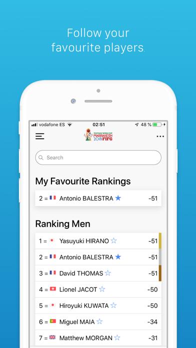 FIFG World Cup App screenshot three