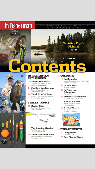 In-Fisherman Magazine Screenshot