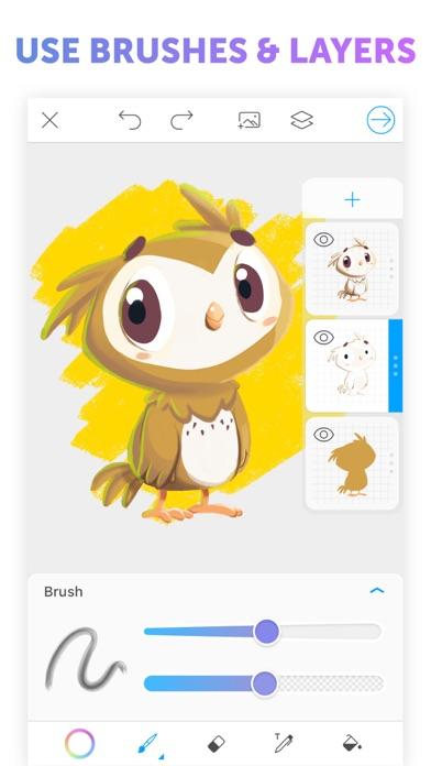 PicsArt Color Paint app image