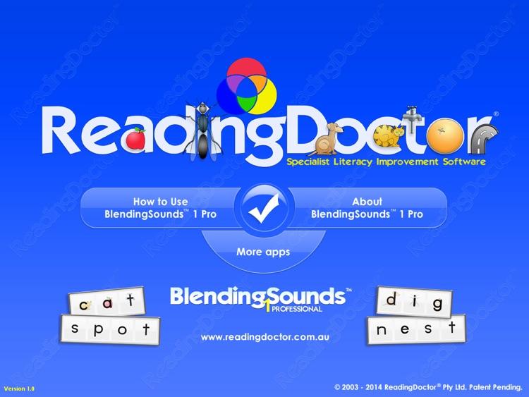 Blending Sounds 1 : Phonics Words for Beginners screenshot-4