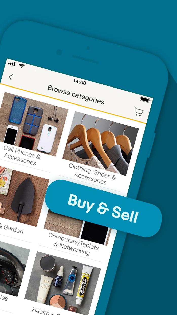 Buy & Sell This Holiday - eBay Screenshot