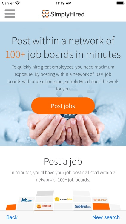 Job Search - Simply Hired screenshot-3