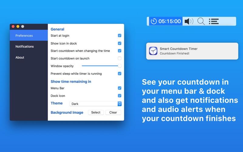 Smart Countdown Timer Screenshot