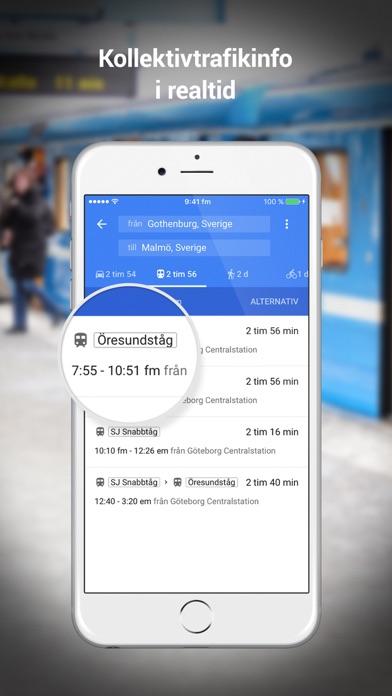 Screenshot for Google Maps in Sweden App Store
