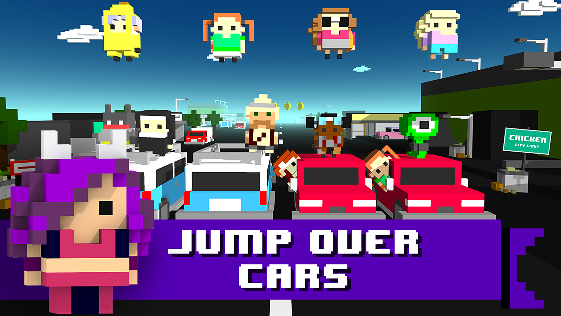 Chicken Jump - Crazy Traffic screenshot 11