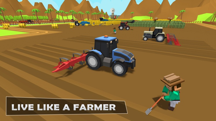 Plow Farming Harvester 3 screenshot-4
