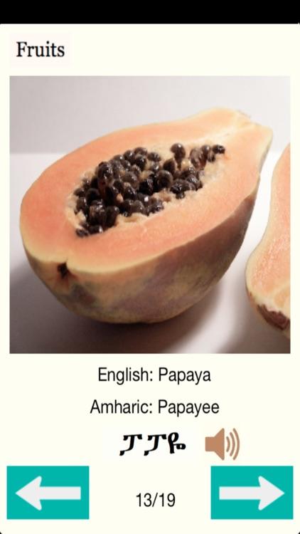 Amharic Food screenshot-3