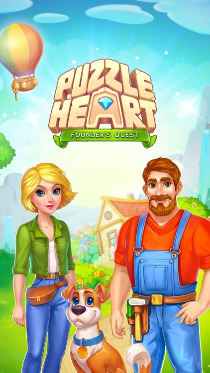 Puzzle Heart Match-3 Adventure screenshot-4