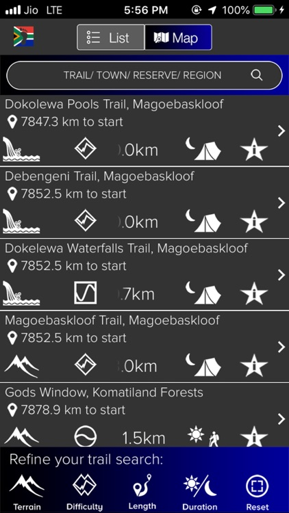 Trail Guide South Africa screenshot-1