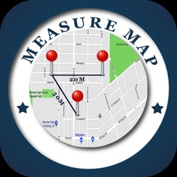 Measure Distance & Area on Map