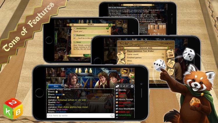 Backgammon Masters Online screenshot-4