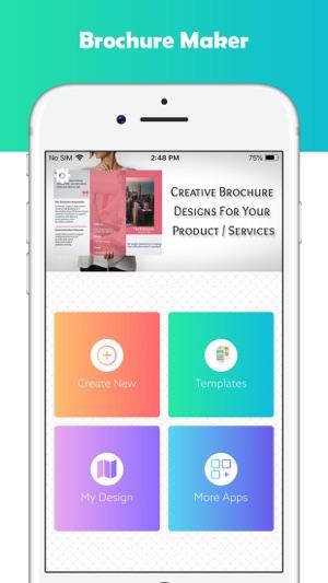 brochure maker graphic design on the app store