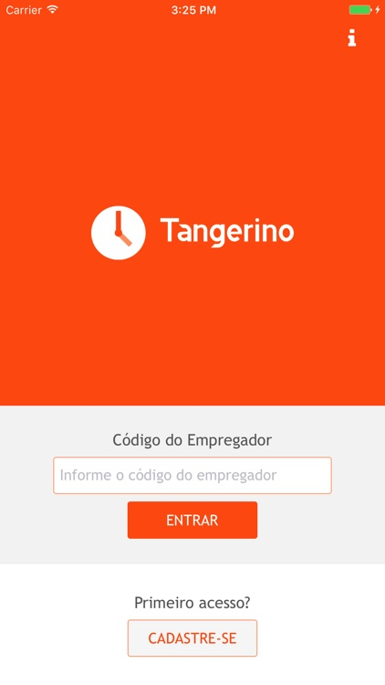 Controle de Ponto Tangerino