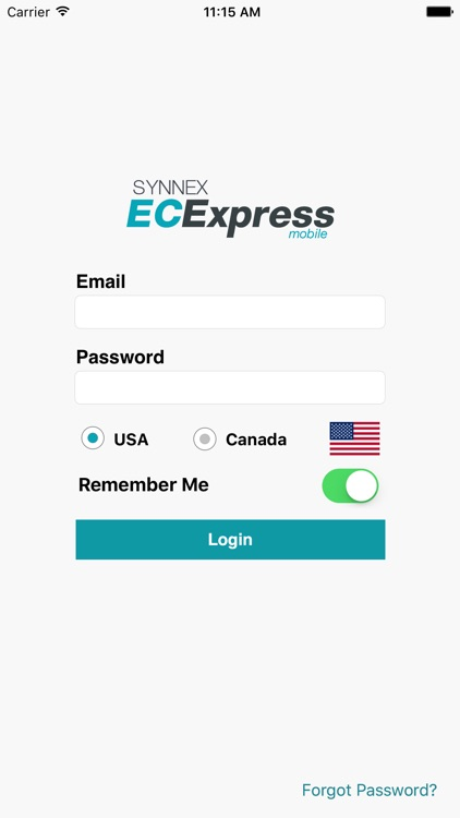 ECExpress Mobile screenshot-0