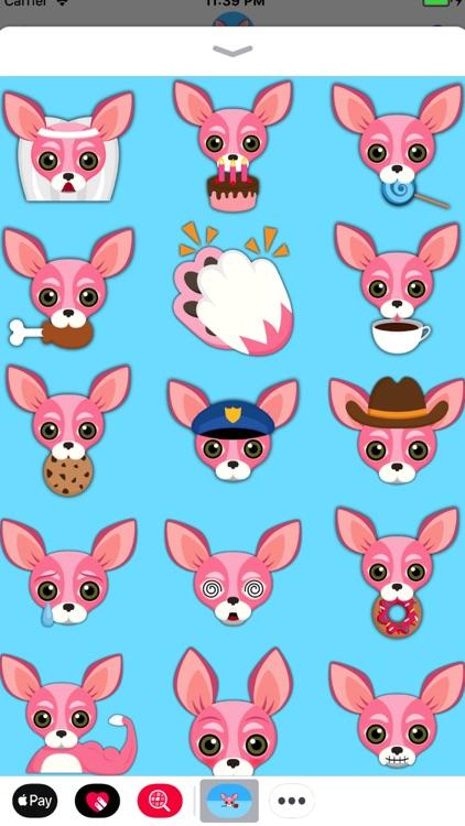 Pink Valentine's Chihuahua screenshot-4