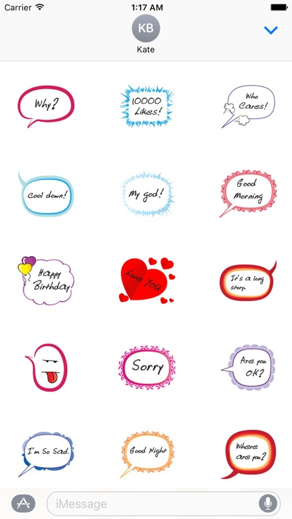TalkMoji - Messages Talk Sticker
